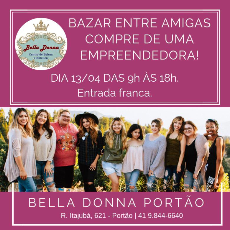 Bazar reúne empreendedoras individuais da região do Portão neste sábado